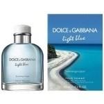 D& G Light Blue Swimming in Lipari